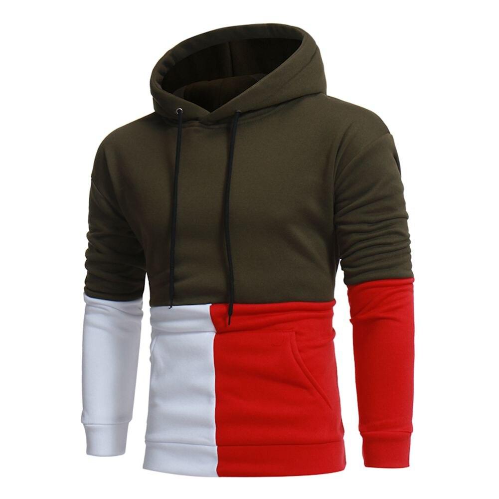 Brand 2017 New Autumn Hoodie Casual Hoodies Men Fashion Tracksuit Male Sweatshirt Off White Hoody Mens