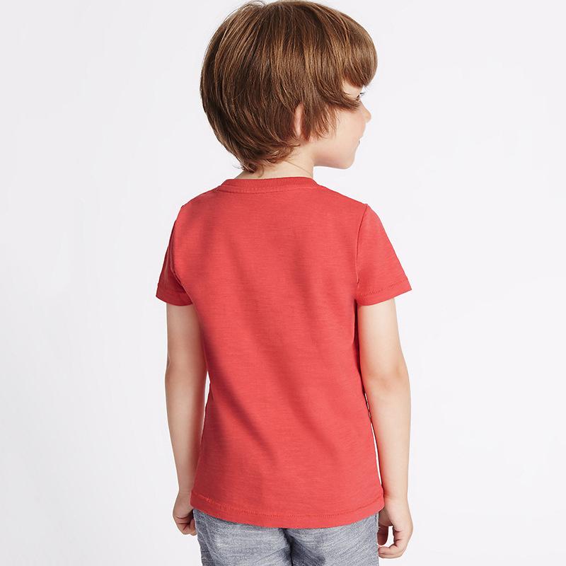 HTB1FT5ZXhWYBuNjy1zkq6xGGpXa3 - brand 2018 new fashion kids clothing 100%cotton blouse childrens clothes baby boy t shirts boy's top tee cartoon car Dinosaur
