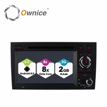 цена на Car DVD Stereo Radio Player For AUDI A4 2002-2008 SEAT EXEO 2009-2012 Octa 8 Core 2GB RAM Android 6.0 GPS Navigation 4G SIM LTE