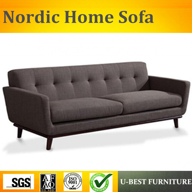 U BEST Modern Simple Sofa Set Design,Living Room Coffee 3 Seater Sofa Chair