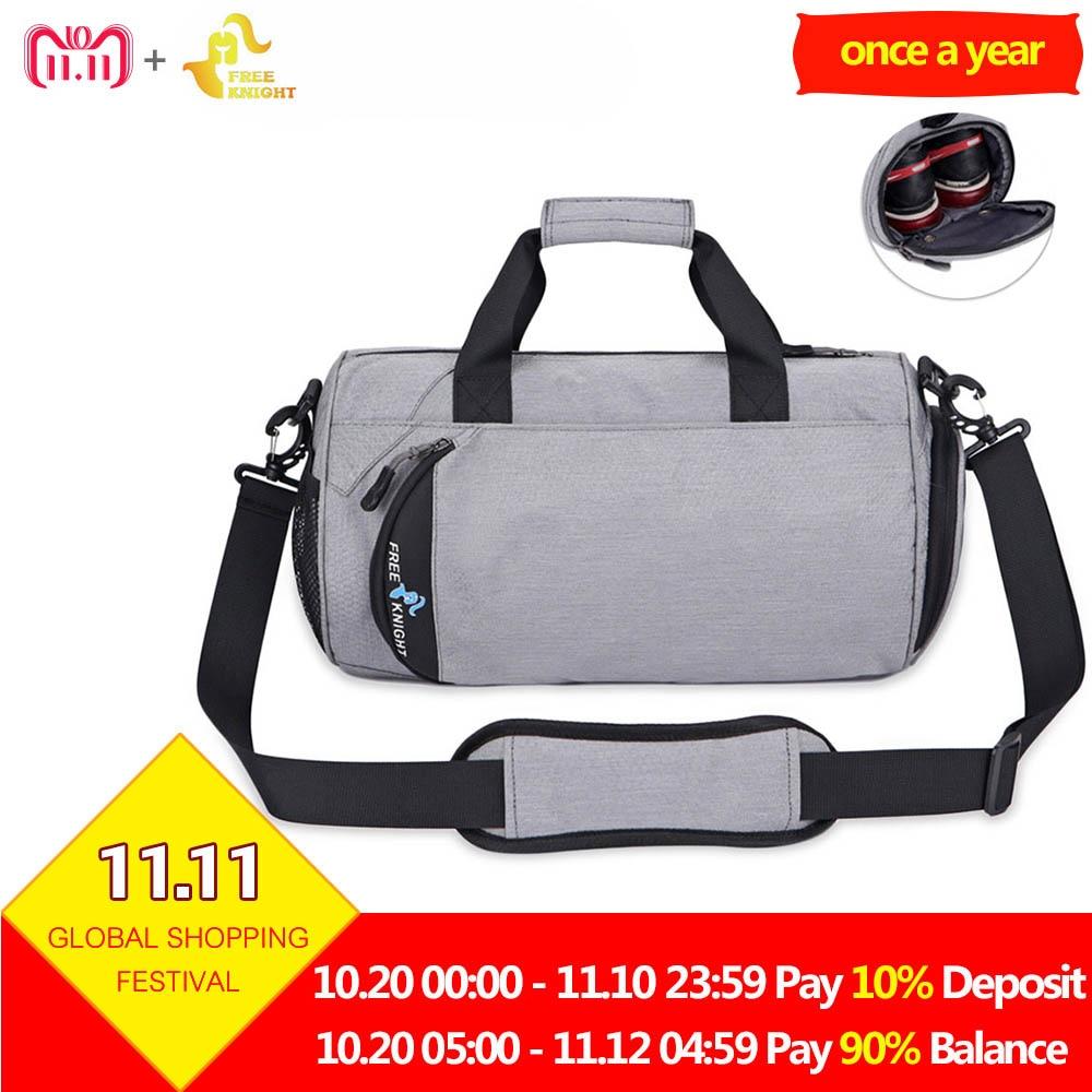 28b6662d86 Free Knight 25L Fitness Gym Bag Waterproof 16L Soccer Training Handbag  Outdoor Travel Shoulder Bag Shoes