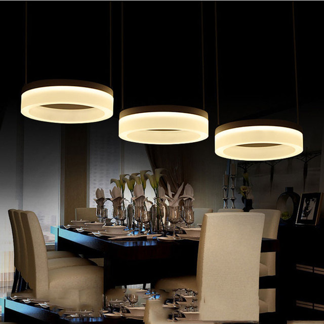 Luces colgantes modernas para comedor sala de estar restaurante ...
