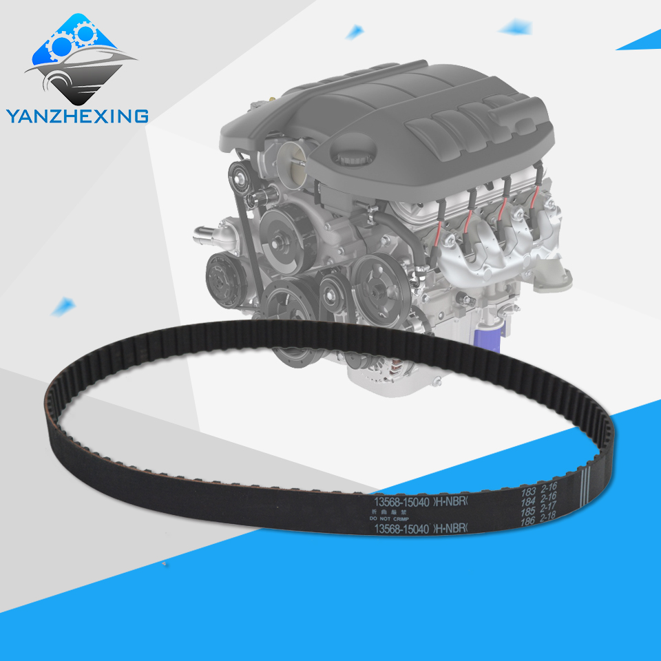 Timing belt oem 13568 15040 for toyota corolla corona carina celica teeth 94