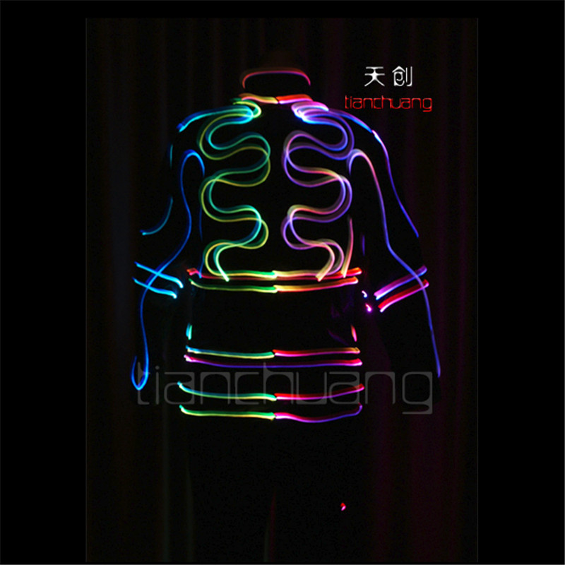 Laetav LED tantsukostüüm