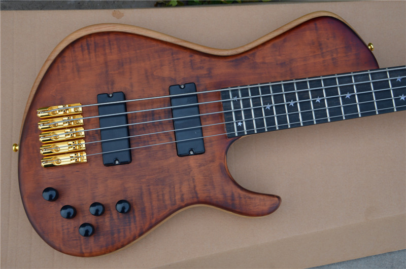 Custom Shop 5 string China Electric Bass Guitar 24frets Ebony Guitars Skin Care Neck Lefty Guitars ra Skin care products and kit solid brass metal electric guitar nut bass nut for st tele lp guitars 4 string 5 string bass guitar parts 1 piece