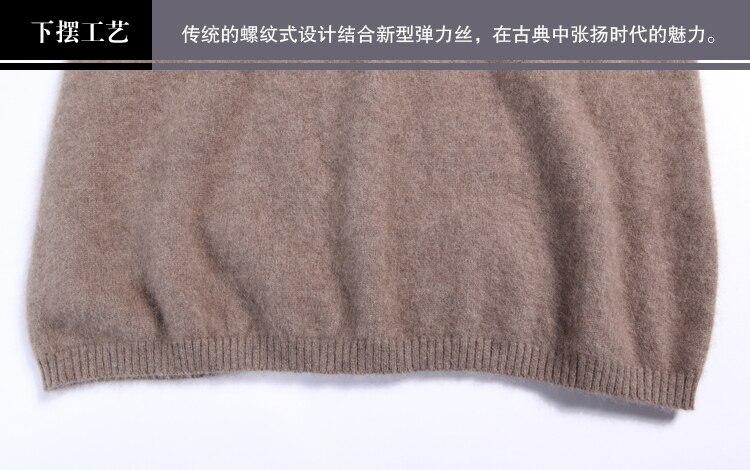 2019 jesen zima duge džemper haljina žene vune džemper pulover - Ženska odjeća - Foto 5