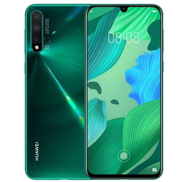 HUAWEI nova 5 Pro 4G Smartphone 6.39 pouces Android 9.0 Kirin 980 Octa Core 8GB RAM 256GB ROM 48.0MP quatre caméra arrière 3500mAh