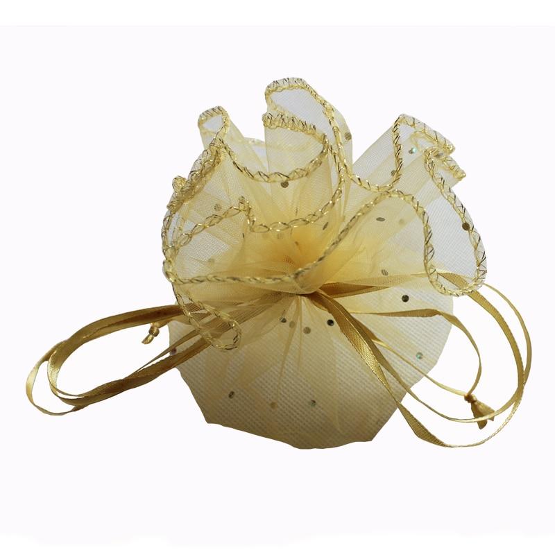 (100 teile / los) 33 cm / 13 inch durchmesser gold runde - Partyartikel und Dekoration