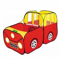 Kids Play Tent Waterproof Folding Playhouse For Children Gift Present Baby Outdoor Indoor Toy Tents Car