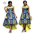 2017 Плюс Размер халат bazin africain роковой Бренд Пользовательские Одежда Африке воск Dashiki Тонкий Cut Sexy Платье с длинным 4xl нет BRW WY1151
