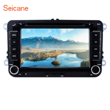 Seicane 7″doble Din Radio de coche navegacion GPS multimedia player For VW Skoda Seat Touran T5 Golf BORA Passat Tiguan polo