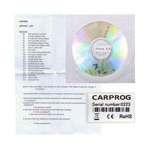 Image 5 - Автомобильный ECU чип Carprog V8.21 Online V10.93, полный универсальный инструмент для ремонта автомобиля, Carprog 8,21, Бесплатная клавиатура