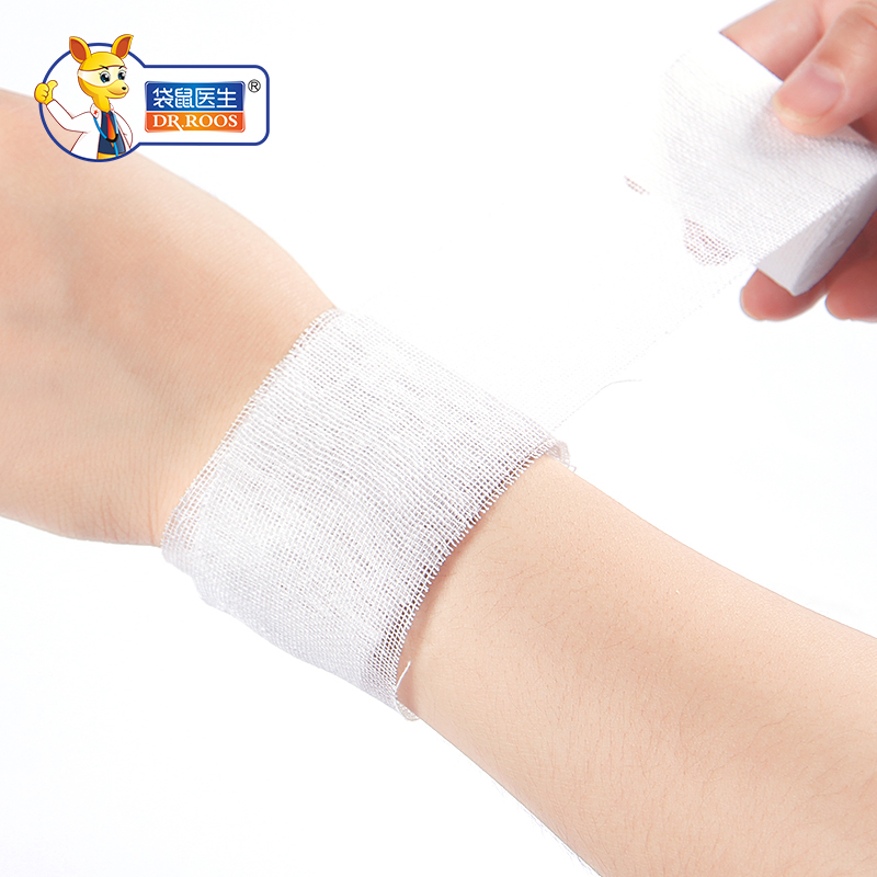 8x600cm(2Bags) Sterile Gauze Bandage Roll Medical Gauze Bandage Rolls First Aid Gauze Bandage Rolls