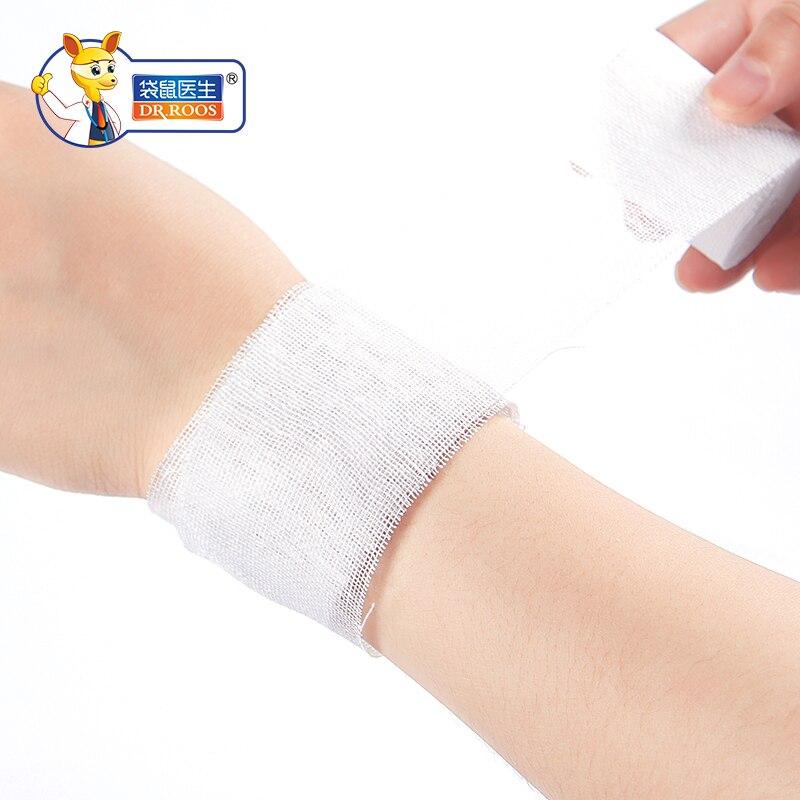 8x600cm(2bags) Sterile Gauze Bandage Roll Medical Gauze Bandage Rolls First Aid Gauze Bandage Rolls