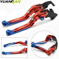 For Honda CRF1000L Africa Twin 2015 2017 Foldable Extendable Clutch Brake Levers Folding Extending CNC 2018 Lever Adjustable