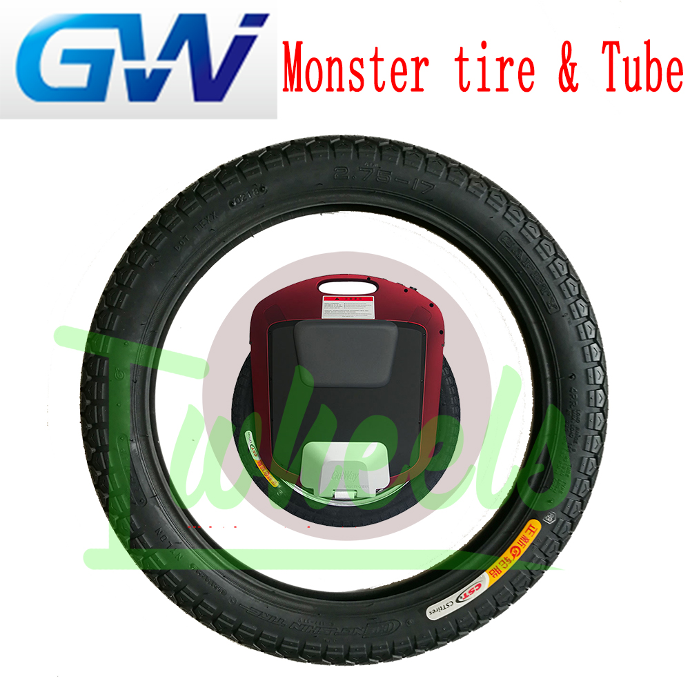 Original GotWay Monster 22inch outer tire inner tube electric unicycle spare parts