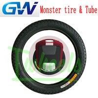 원래 gotway 괴물 22 인치 외부 타이어 내부 튜브 전기 외발 자전거 예비 부품