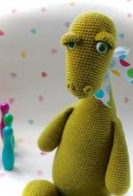 Dibble the Dinosaur – Crochet Amigurumi animal best