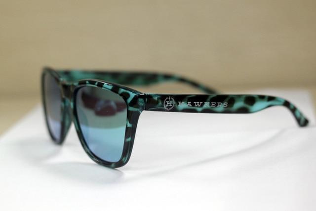 d0cab57f7e1 The 2015 special edition Hawkers polarized sunglasses sunglasses uv  reflective van sun glasses green tortoise frame green lens
