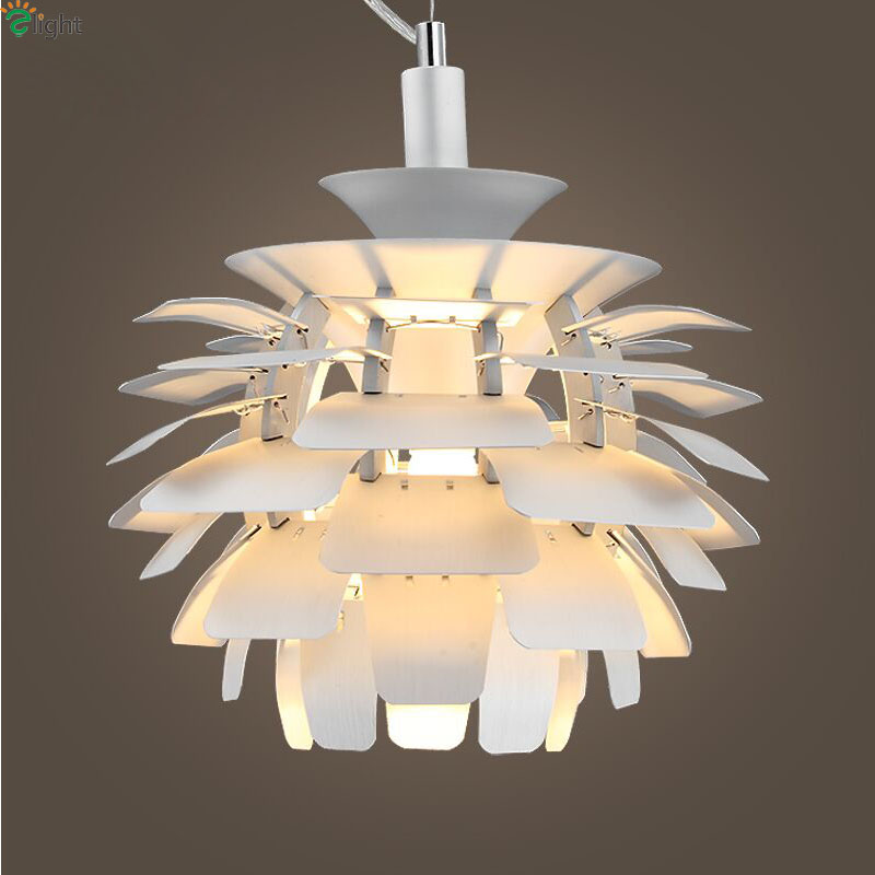 Modern Pinecone Led Pendant Lights Lustre Aluminum Dining Room Led Pendant Lamp Living Room Pendant Light Hanging Light Fixtures hghomeart children room iron aircraft pendant light led 110v 220v e14 led lamp boy pendant lights for dining room modern hanging