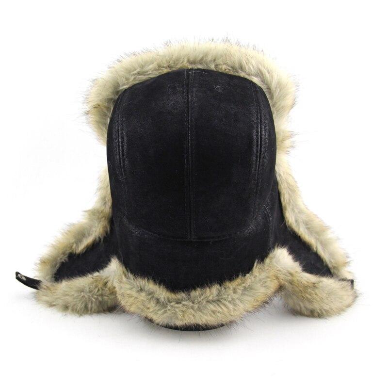 BFDADI Neue Ankunft Frauen Natürliche Kunstpelz Hüte für männer - Bekleidungszubehör - Foto 5
