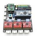 USB CNC 3 Eixos Stepper Motor Driver USB Placa placa Controlador Do Laser para GRBL frete grátis