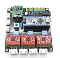 USB DEL CNC de 3 Ejes Motor de Pasos Del Tablero de Conductor Del USB Controlador junta GRBL Láser envío libre
