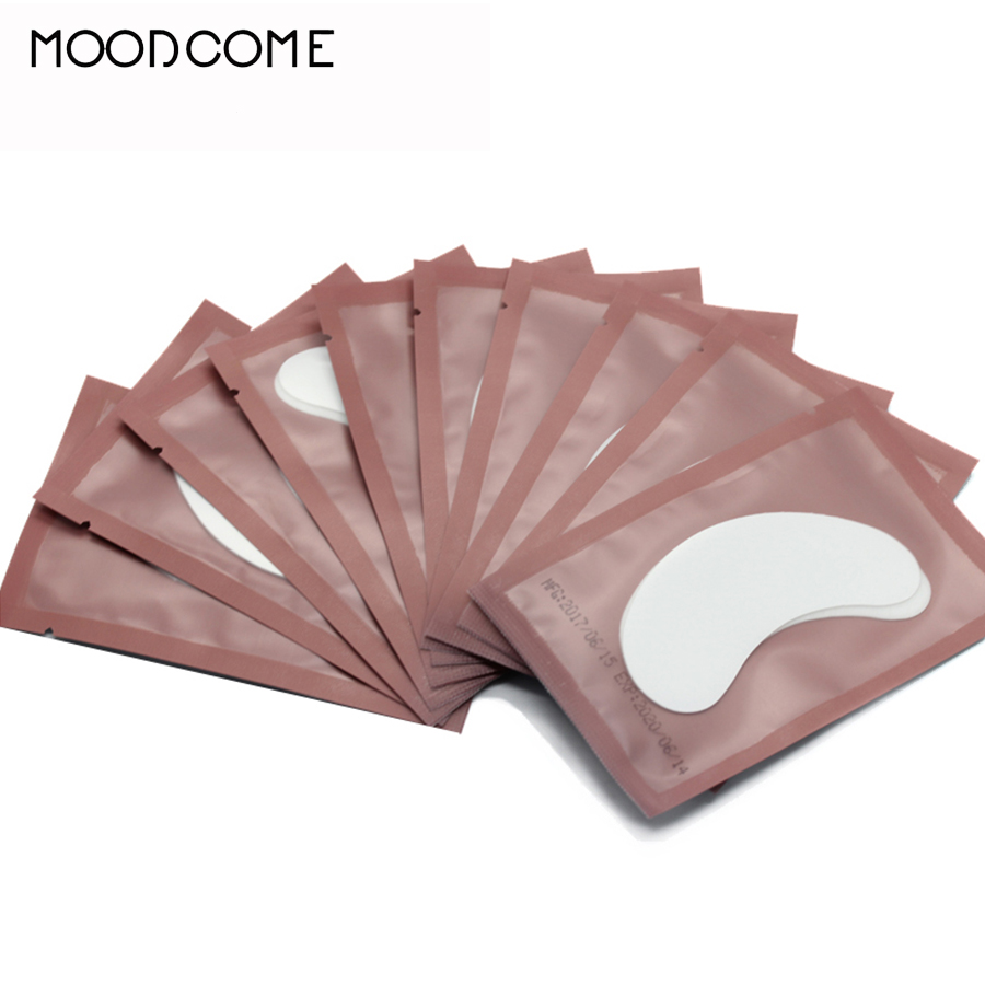 Eyelashes Patches for Eyelash Extension Under the Eyes Building Set False Lash Eye Pads for Growing the Eyelashes Paper Sticker