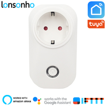 Lonsonho Smart Plug Wifi Socket 16A 3520W Power Monitor Energy Saver EU AU UK Brasil Israel Chile Tuya Life App