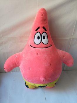 996e1af07d8 Bob Esponja carácter grande 48 cm historieta Patricio Estrella de peluche  de juguete muñeca suave almohadilla almohada
