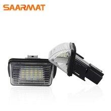 Светодиодный светильник номерного знака CANBUS для peugeot 308,5008, 406406(), Partner, Tepee(B9), Partner B9, M49, M59 автомобильная лампа
