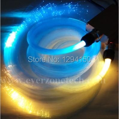 FY-1-004 200pcs 1.0mm * 2m À La Mode LED Décoration DIY Fiber Optic Étoile Plafond Kit