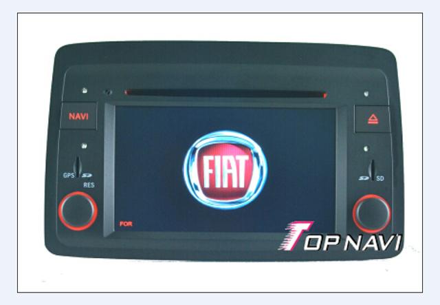Top DHL Frete Grátis 6.2 ''Wince Estéreo Do Carro Para Fiat Panda: 2004 Desenvolvimento subsequente Com DVD GPS BT Mapa livre