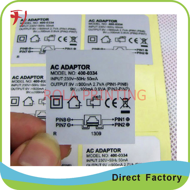 Customized professional adhesive detergent sticker printing die cut adhesive cosmetic label