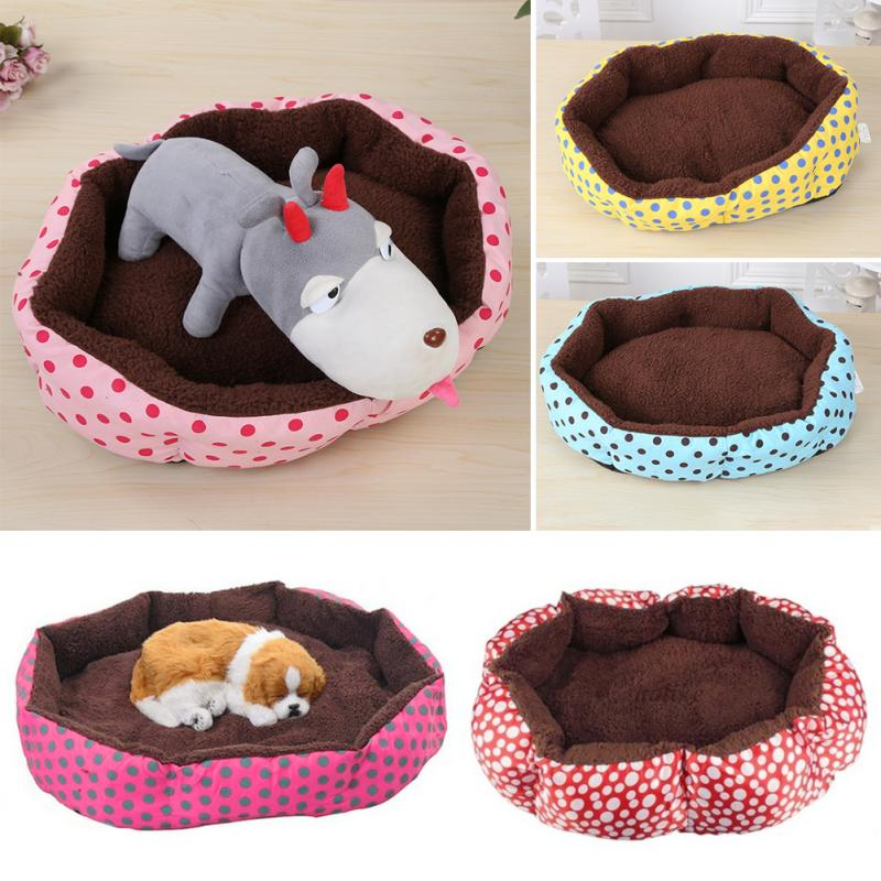 40*30cm Warm Dog Bed Cozy Puppy Cat Kitten Pet Bed Pad Cushion Basket Sofa Couch Mat products detachable