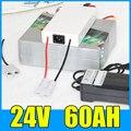24V 60AH литиевая батарея  29 4 V 1400W электрический велосипед Скутер Солнечная энергия батарея  бесплатная доставка BMS зарядное устройство