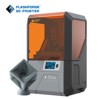 Flashforge Hunter DLP uv printer resin 3d printer with 500g grey standard resin for free