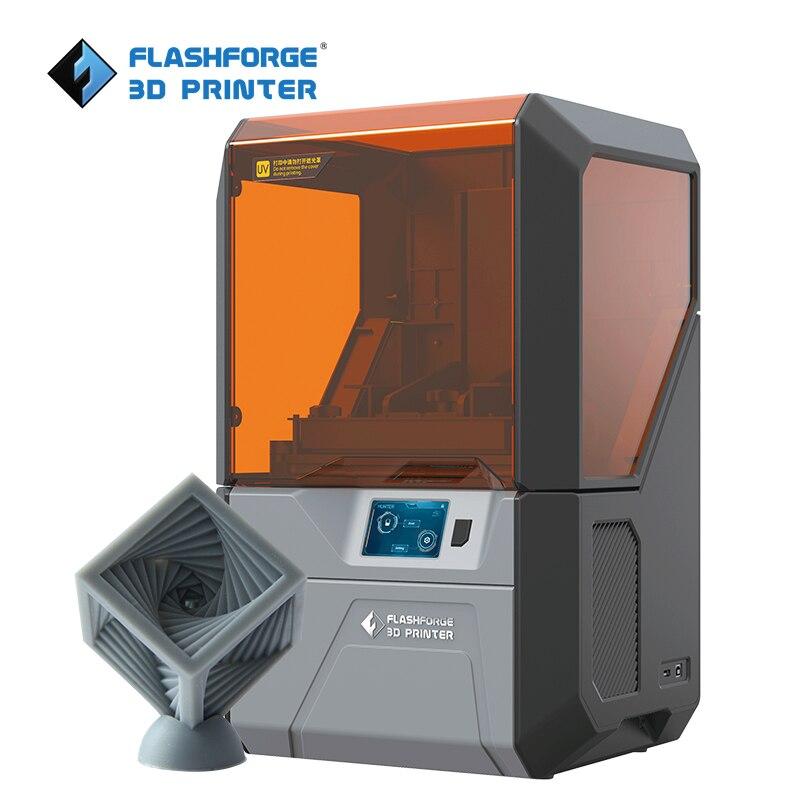Flashforge Hunter DLP stampante uv resina 3d stampante con 500g grigio standard di resina per la spedizione