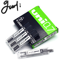 Recharge automatique de crayon Mitsubishi UL-1407, accessoire de papeterie scolaire et d'écriture, noyau de plomb 0.7 HB, bureau d'apprentissage