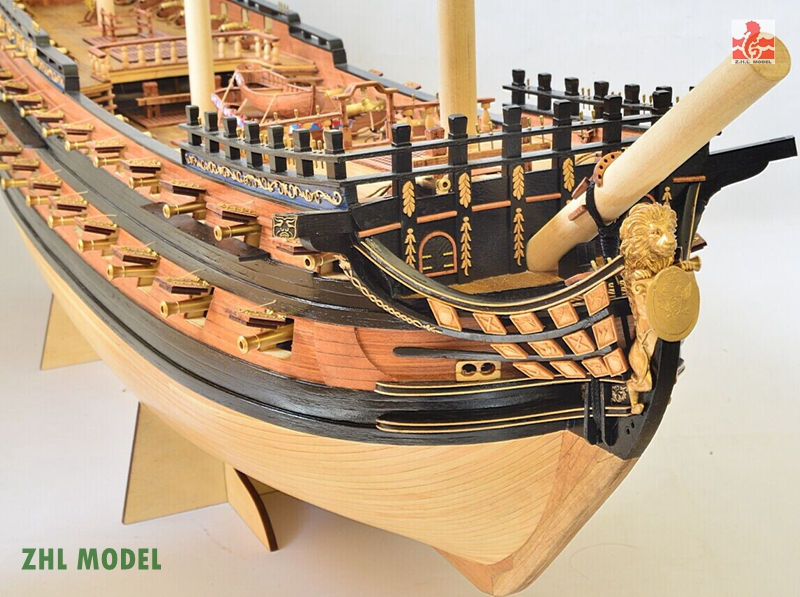 ZHL INGERMANLAND1715 KL10 model ship wood plywood