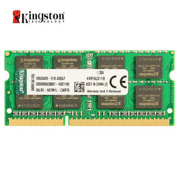 Kingston DDR3L 8GB 1600Mhz DDR3 8 GB Low Voltage SO-DIMM Notebook Ram (KVR16LS11/8GB) - DISCOUNT ITEM  52 OFF Computer & Office