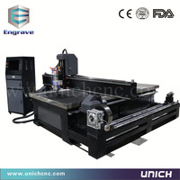 Best service 1300*2500 mm cnc router 4 axis