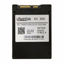 I-Flash 2.5 Inch Hard Disk Solid State Drive SSD SATA 6GB/S Without Cache 32GB Light And Portable Internal Hard Drives