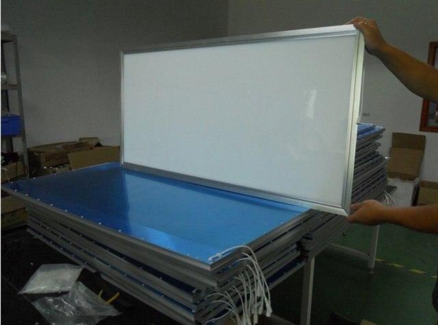 Livraison gratuite 600x1200mm 48 w offre spéciale panneau rgb 60x120 48 W panneau lumineux dimmable rgb 60x120 cm led panneau d'éclairage - 4