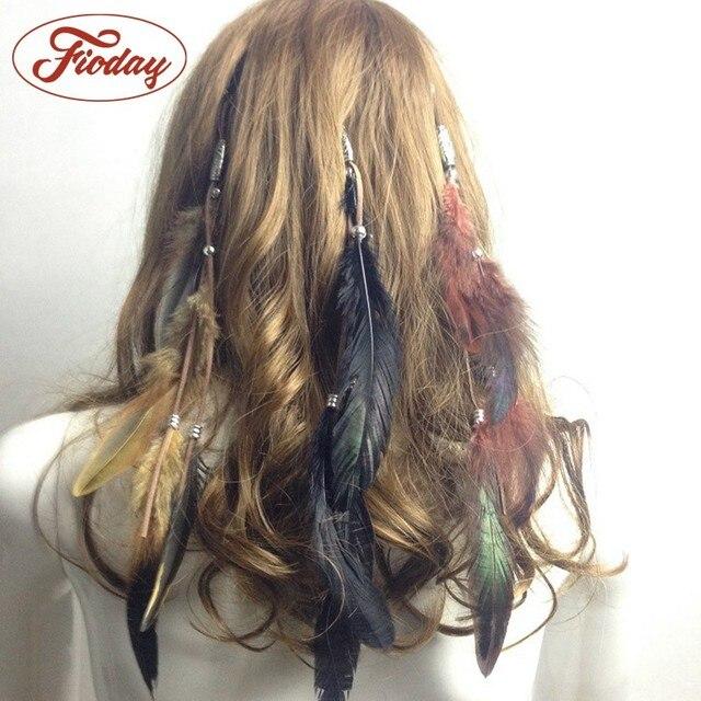 Hot Summer Bohemian Hippie Headband Dream Catcher Feather Headdress