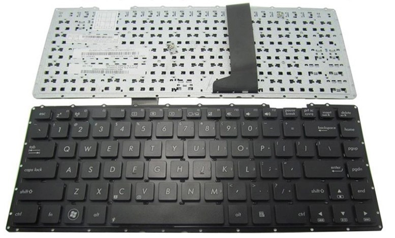 SSEA Free Shipping US New <font><b>Keyboard</b></font> For <font><b>ASUS</b></font> X401K X401E X401U <font><b>X401</b></font> X401A X401A1 without frame image