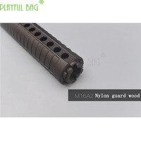 Outdoor activities CS M16A2 nylon protection wood fishbone TTM BD556 water bullet gun Jinming accessories refit OI04
