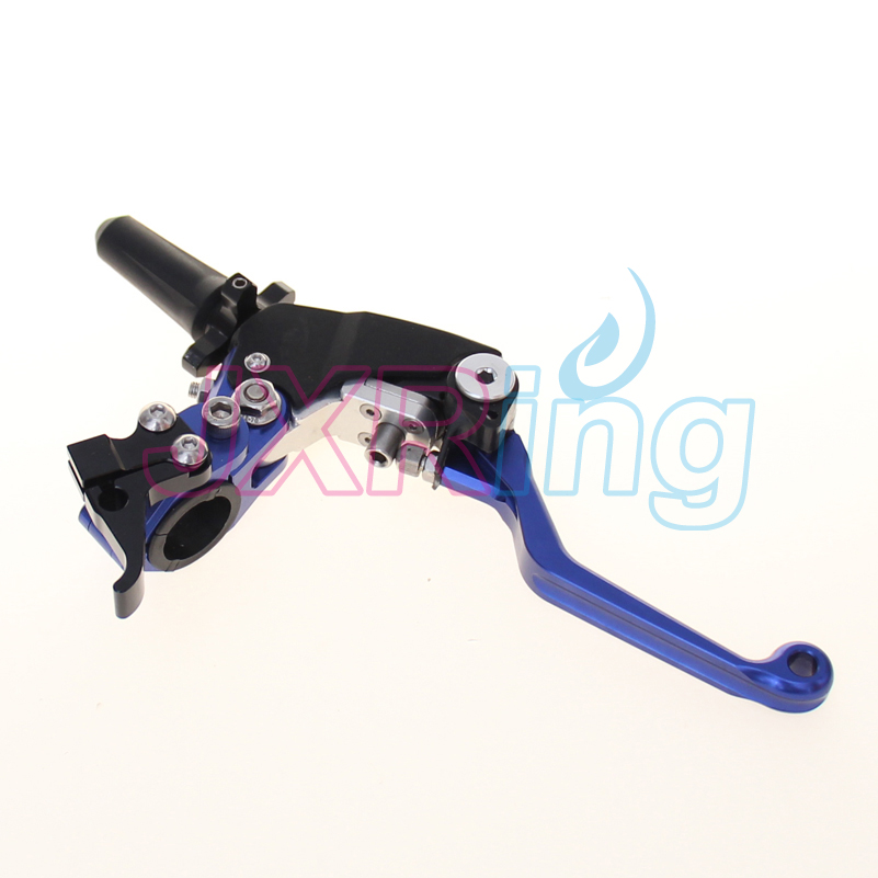 Billet 3 Direction Folding Clutch Lever Perch For Yamaha Gas Gas Husqvarna Husaberg TM Beta Dirt Bike meziere wp101b sbc billet elec w p