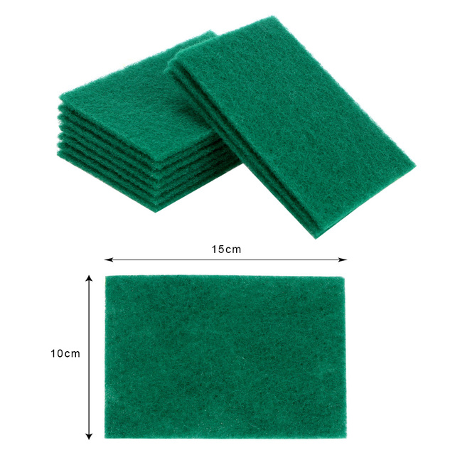 HILIFE 10 Pcs/Set Dish Pan Towels Strong Decontamination Kitchen Rags Highly Efficient Scouring Pad Cleaning Wipers Dish Cloth