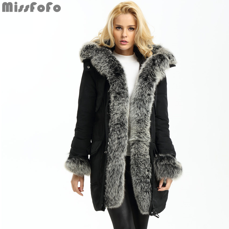 Popular Down Coat with Real Fur Hood-Buy Cheap Down Coat with Real